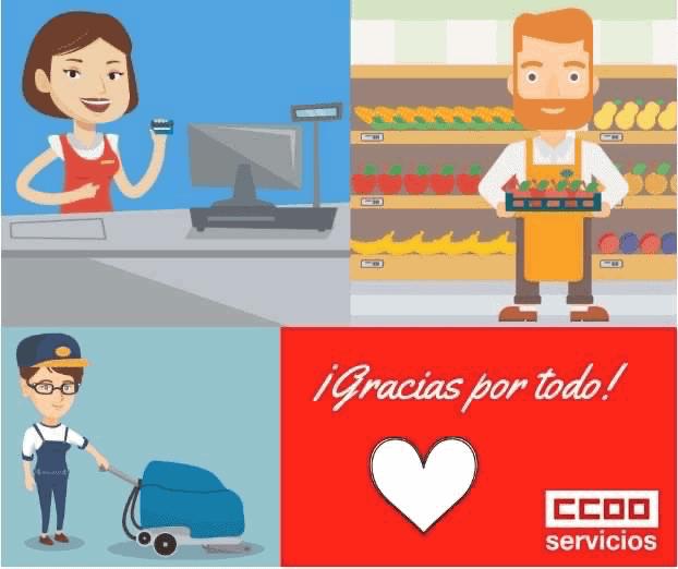 Gracias desde CCOO Servicios en La Rioja
