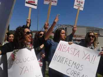 Huelga en Los Telares. La Rioja