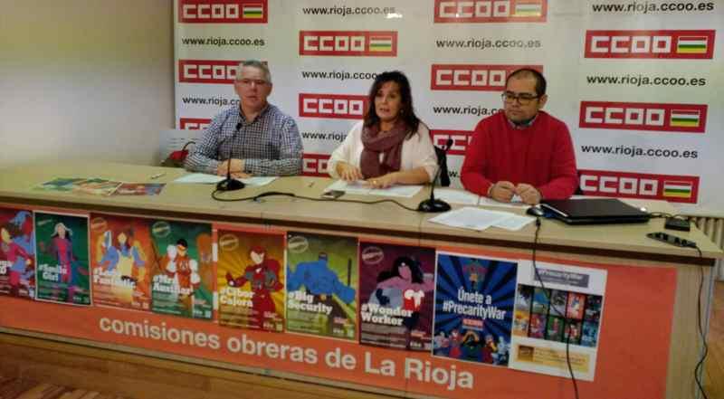 Presntacion PrecarityWar en La Rioja