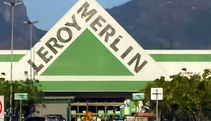 Tienda de Leroy Merlin. comercio