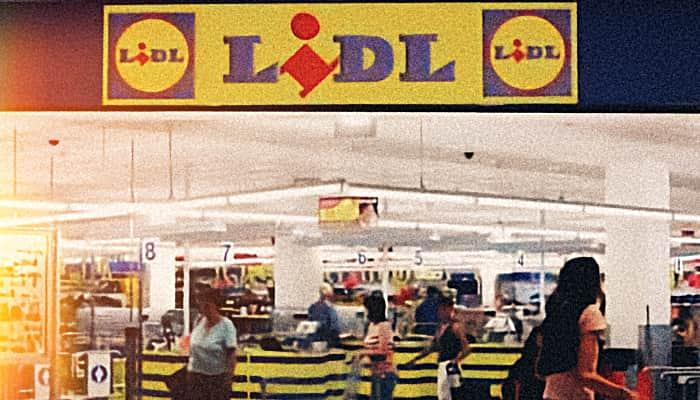 Interior tienda de LIDL