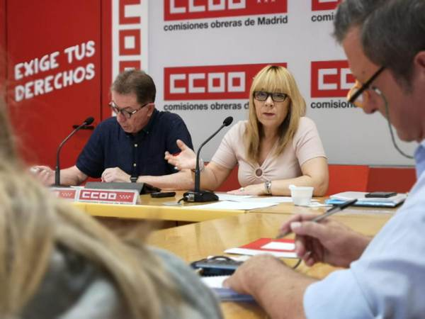 Estudio CCOO Madrid Jornada laboral