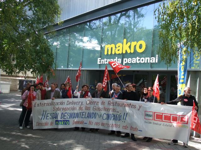 Acuerdo servicios Comidas Makro