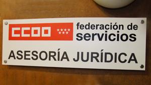 Asesor�a Jur�dica CCOO Servicios Madrid