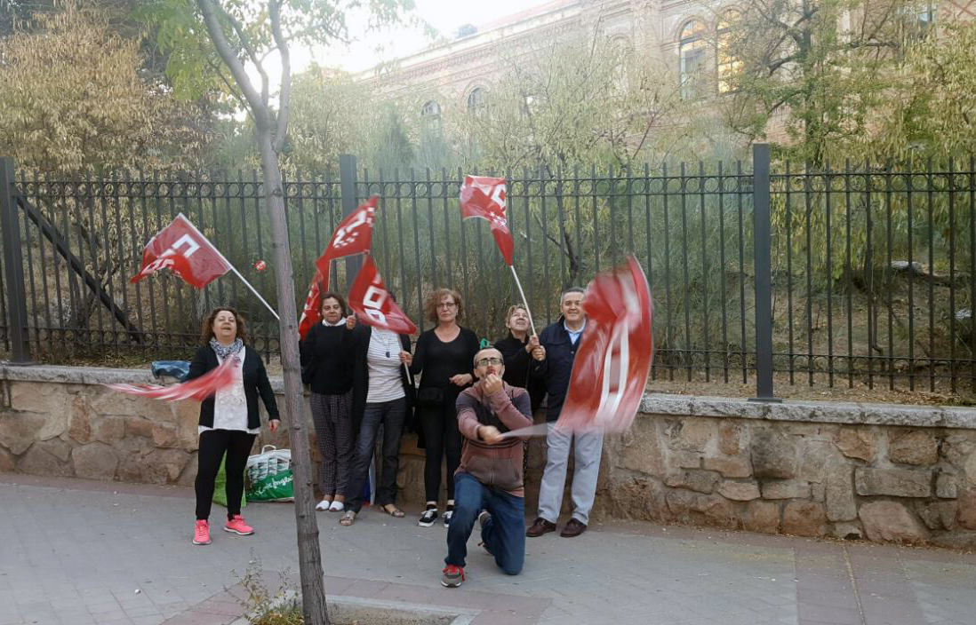 huelga Estado Mayor de Defensa