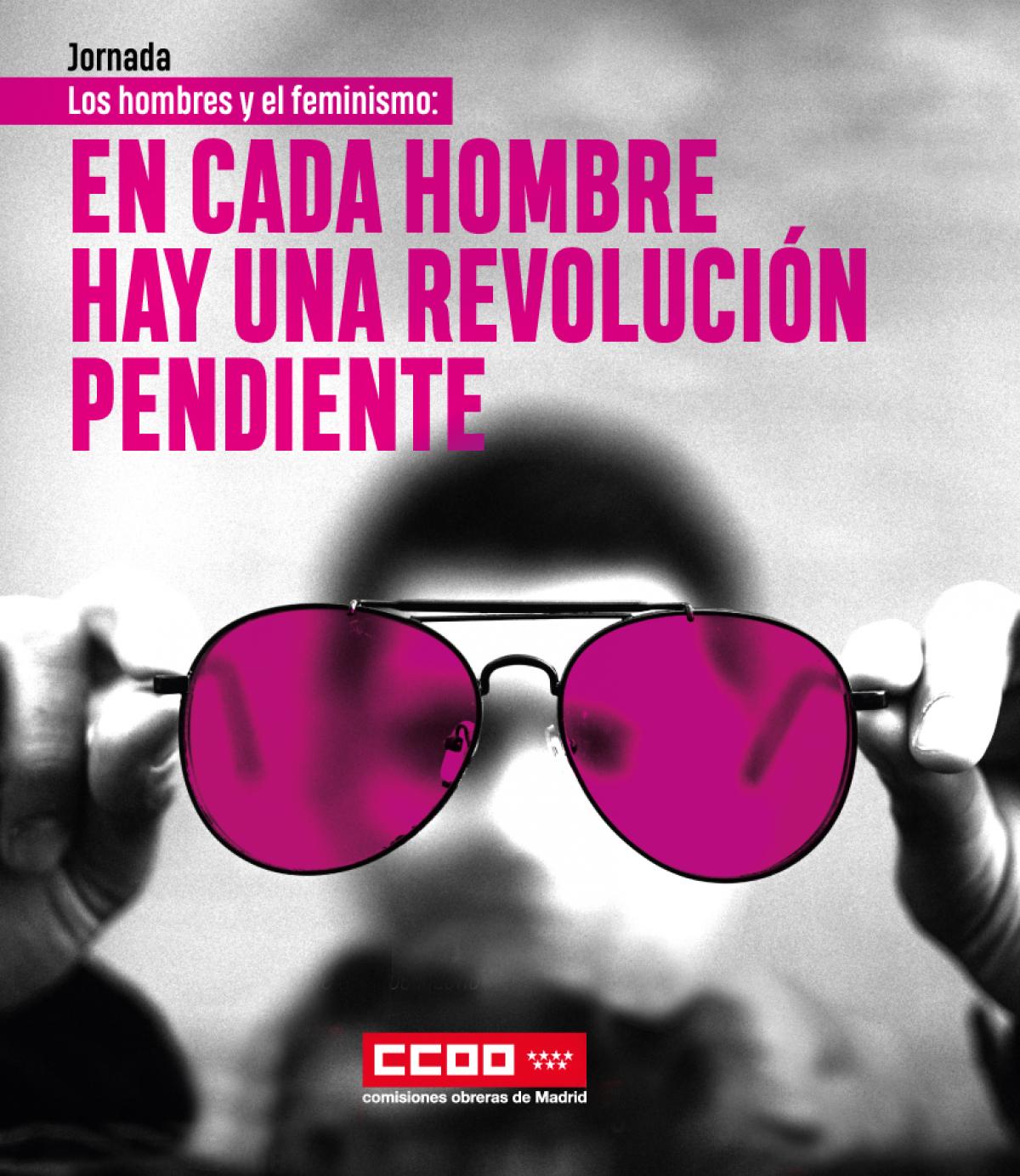 cartel jornada hombres feminismo