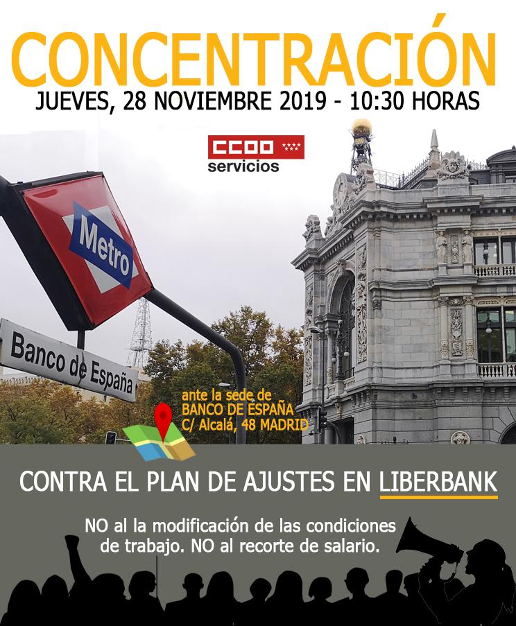 cartel concentración liberbank