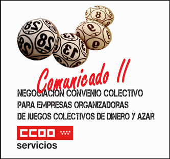 Comunicado convenio bingos Madrid