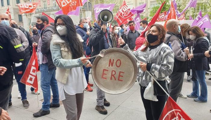 Protestas Hotel Westin Palace