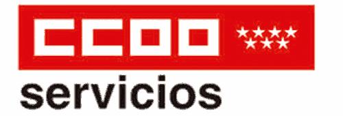 Logotipo Servicios CCOO Madrid