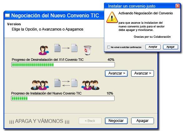 Negociación Convenio colectivo TIC