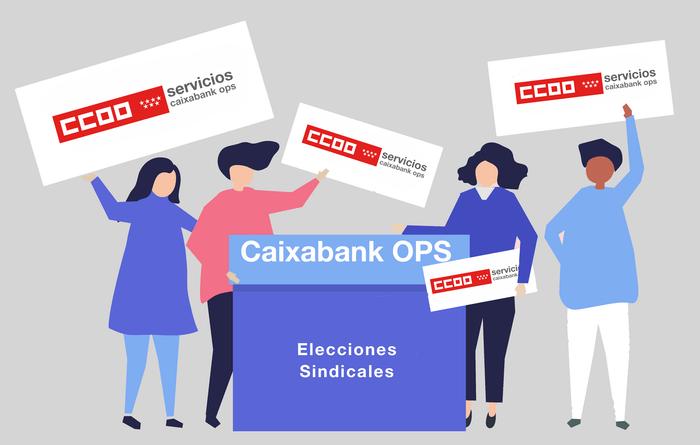 elecciones sindicales Caixabak OPS