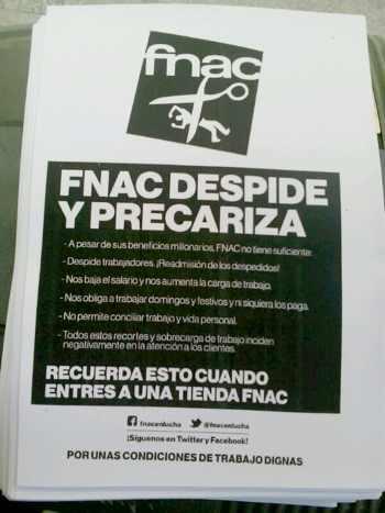 Despidos en FNAC Rivas Madrid