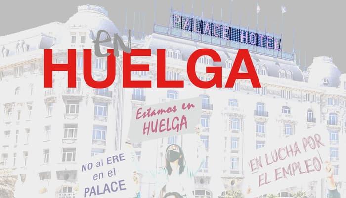 Huelga en Hotel Westin Palace