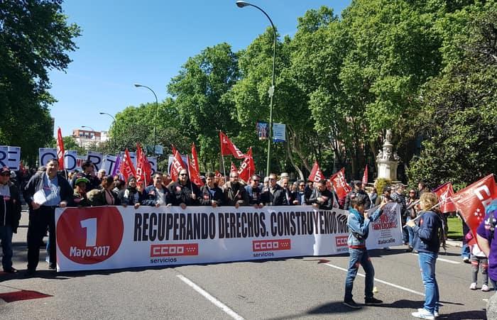 Manifestacion 1 de mayo