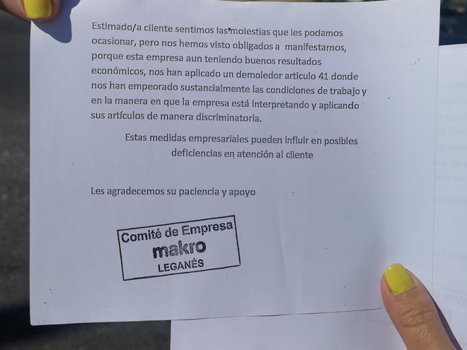 Concentración-Makro-Leganés 21/06/2019