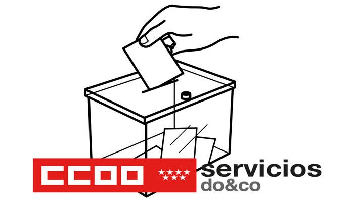 Plenario afiliación CCOO Madrid en Do&Co