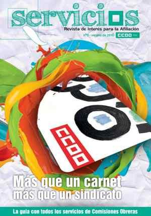 REvista Servicios Afiliacion CCOO Madrid