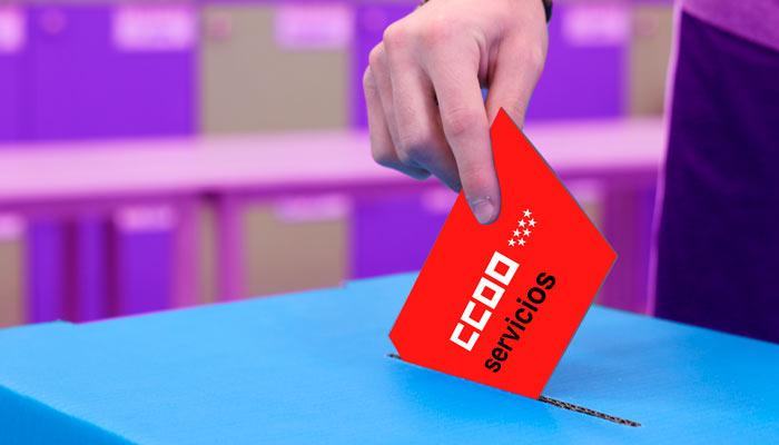 plenario afiliación Servicios CCOO Madrid