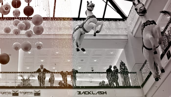 Imagen centro comercial, grandes almacenes