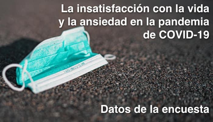 Mascarilla quirúrgica. Pandemia Covid-19 Encuesta