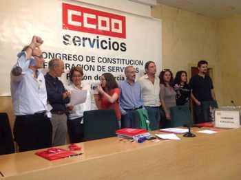 Ejecutiva Servicios CCOO Murcia