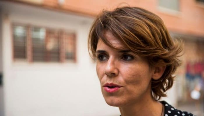 Teresa Fuentes Secretaria General Federación de Servicios de CCOO Murcia