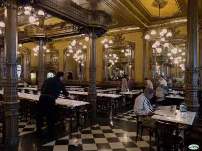 Café Iruña. Pamplona