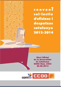 convenio oficinas y despachos catalunya