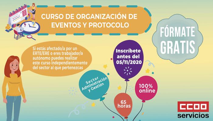 Curso gratuito Organizacion de eventos y protocolo