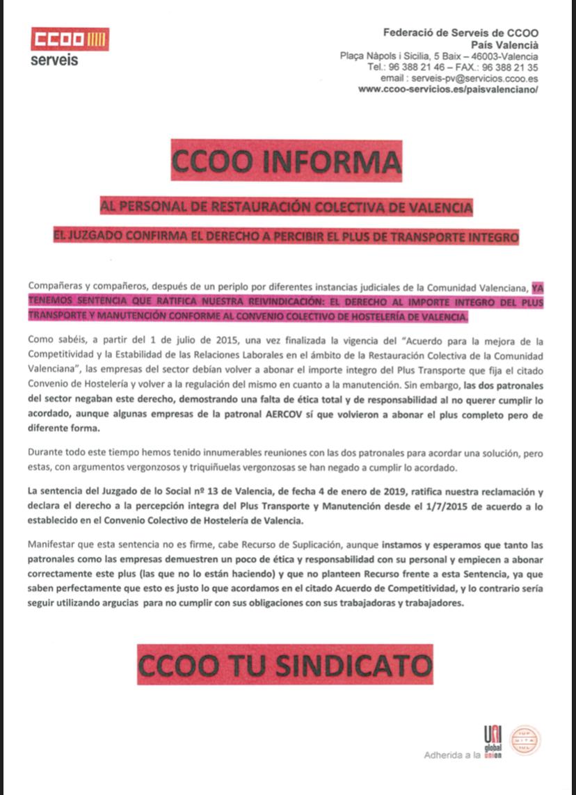 Comunicado Restauracion Colectiva