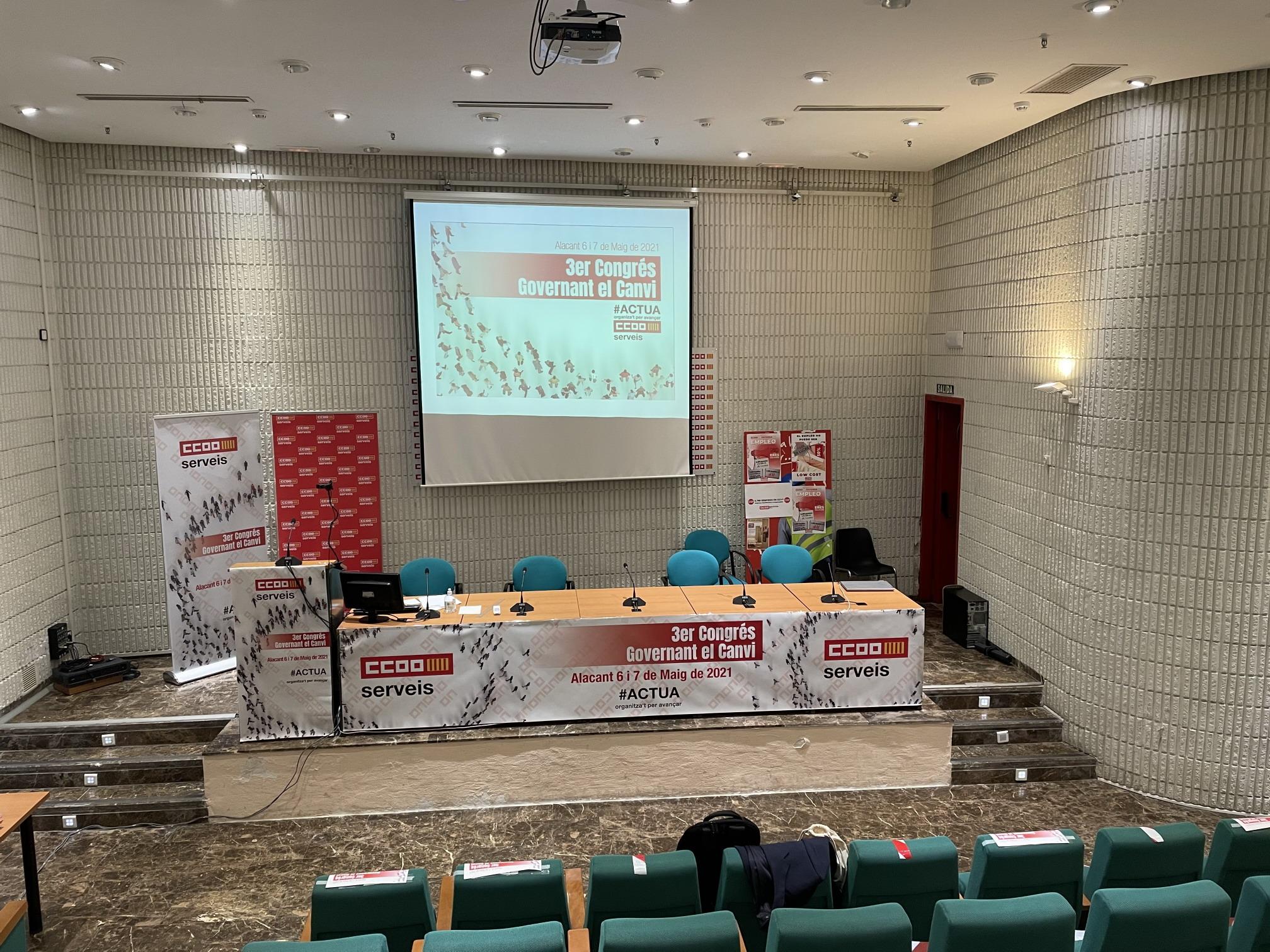 3er Congrès CCOO PV