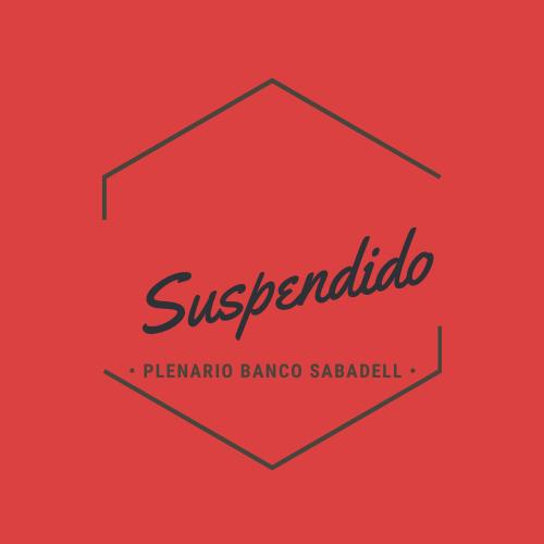 Suspension Plenario