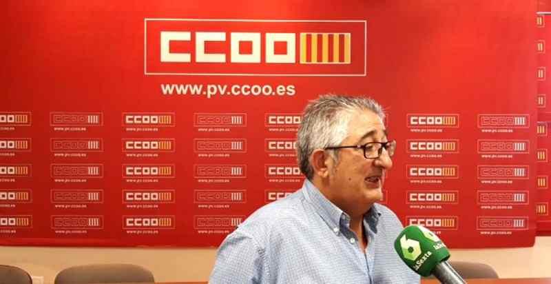 J. M Mandingorra Secretario general Servei CCOO Pais Valenciano