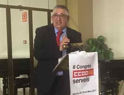 Jose Miguel Mandingorra. Secretario General Servicios CCOO País Valenciano