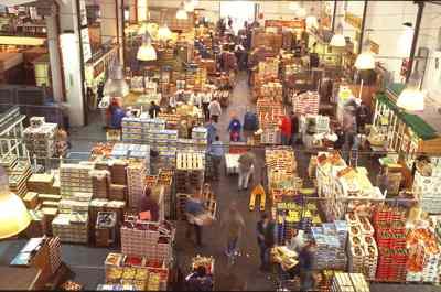 Imagen mercado alimentación