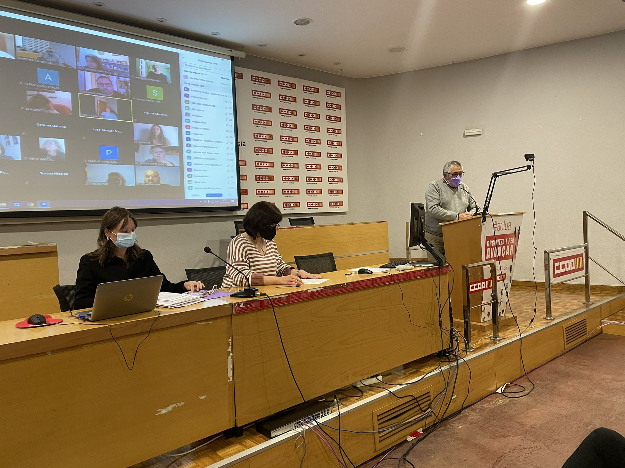 Asamblea Congresual Nivel II Valencia