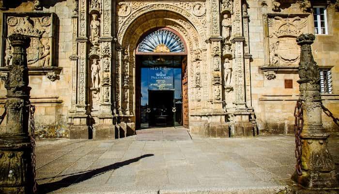 Imagen parador de Santiago Compostela. Paradores