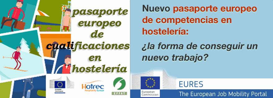 Pasaporte Europeo de Calificaciones en Hostelería
