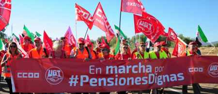 Marchas por las pensiones dignas