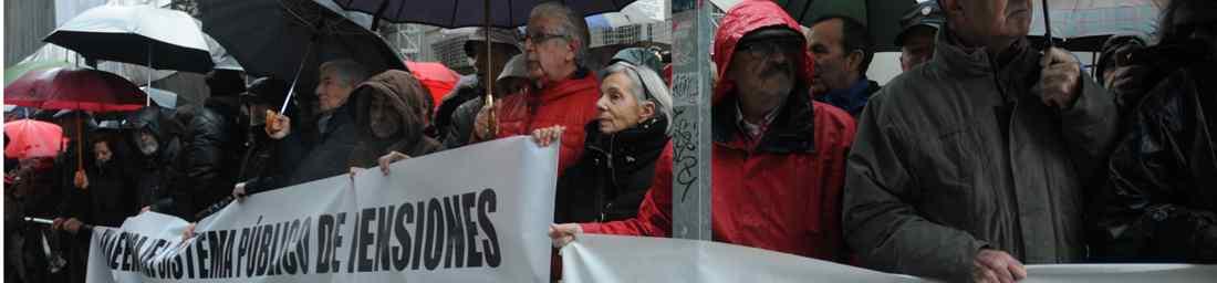 Movilizaciones pensionistas CCOO