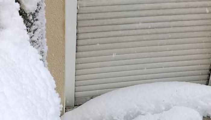 Establecimiento cerrado por nevada