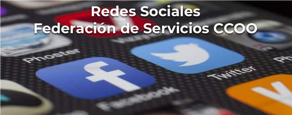 REdes Sociales Federación Servicios