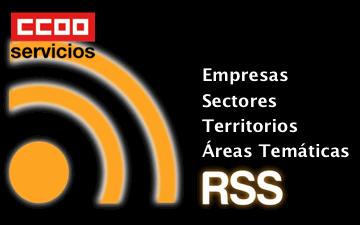 RSS por secciones de CCOO Servicios