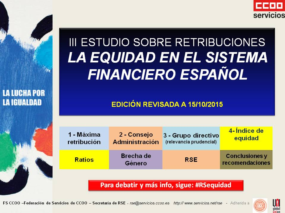 retribuciones sector financiero RSE