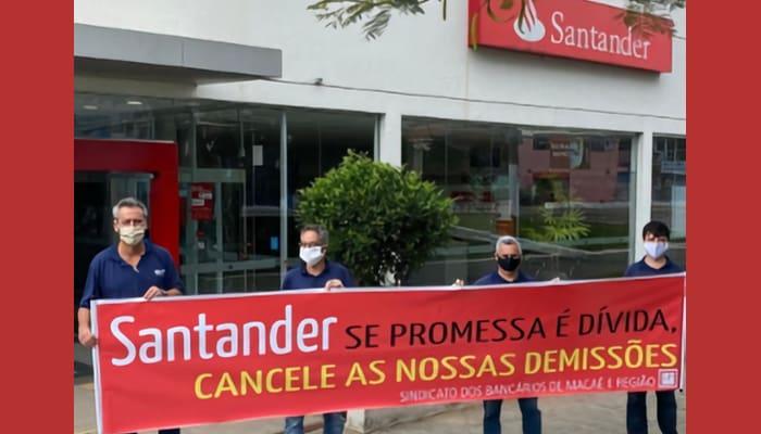 Despidos en Santander Brasil