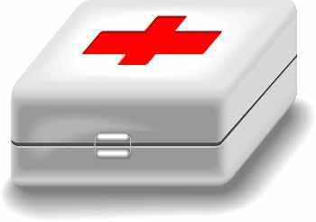 Botiquin primeros auxilios (mutuas)