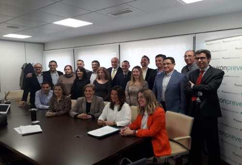 Firma convenio colectivo en Quirón Prevención