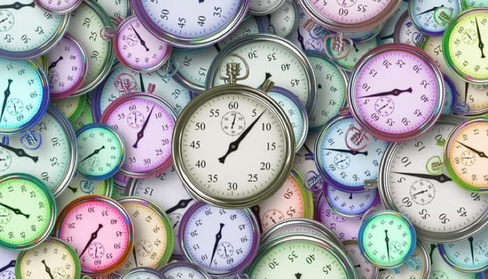 Relojes par anegociación jornada