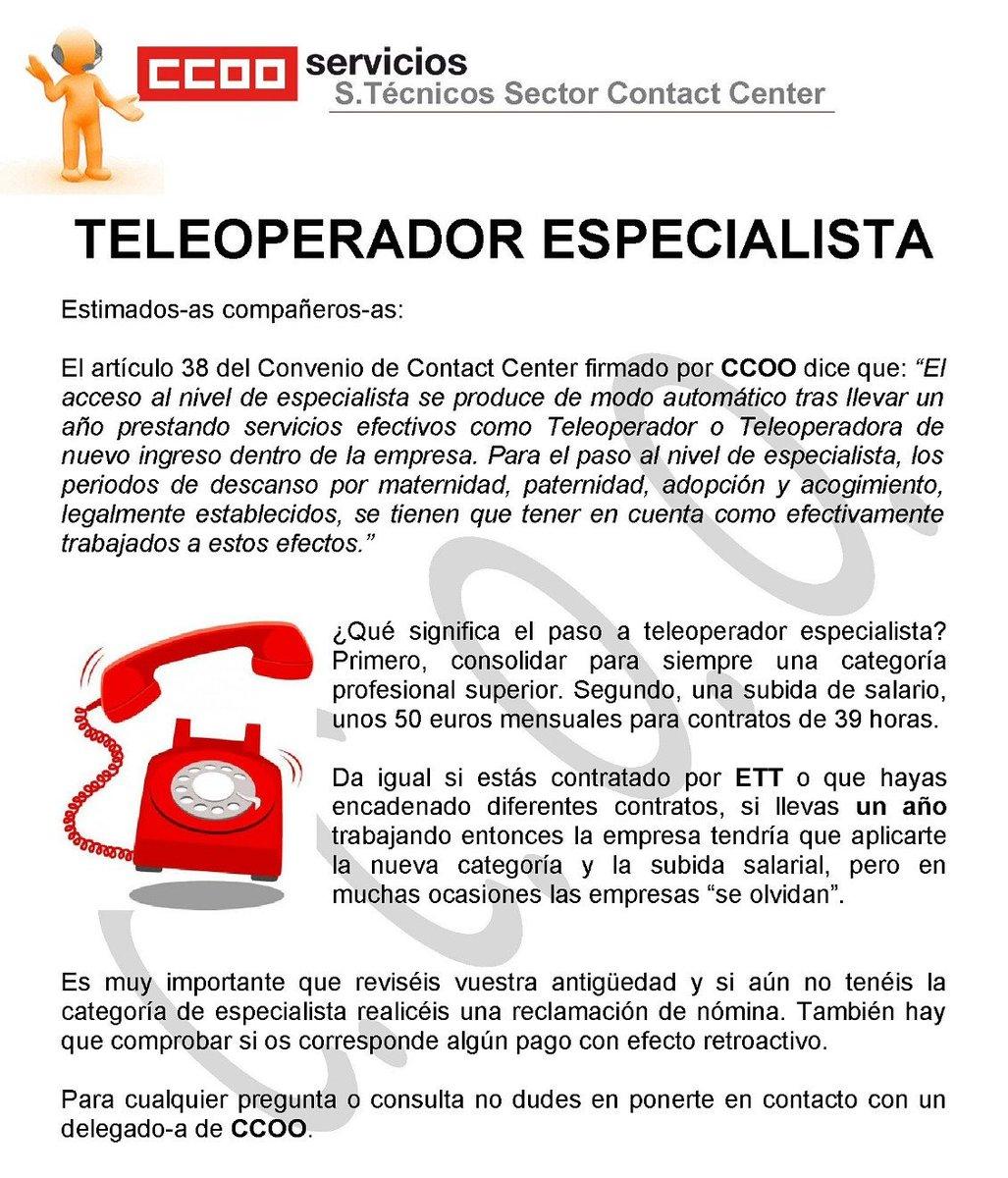 Teleoperador especialista